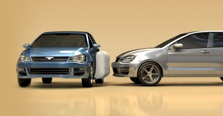 airbag - airbumpa Edited - Airbags for the outside of cars in two years