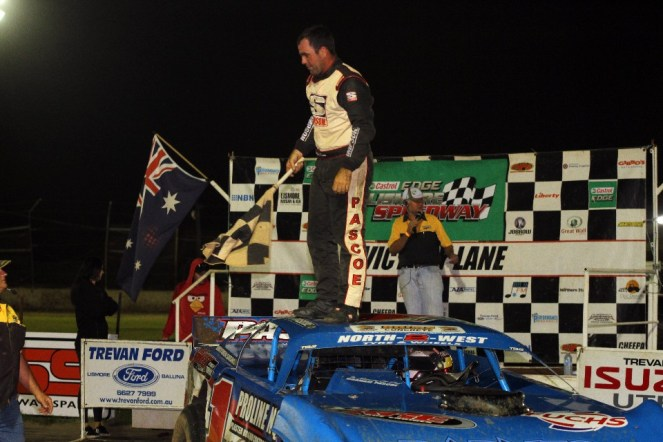 pascoe - matt pascoe wins - Pascoe the pacesetter in thriller