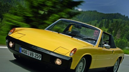 porsche - porsche 914 5 - The Volkswagen that became a Porsche