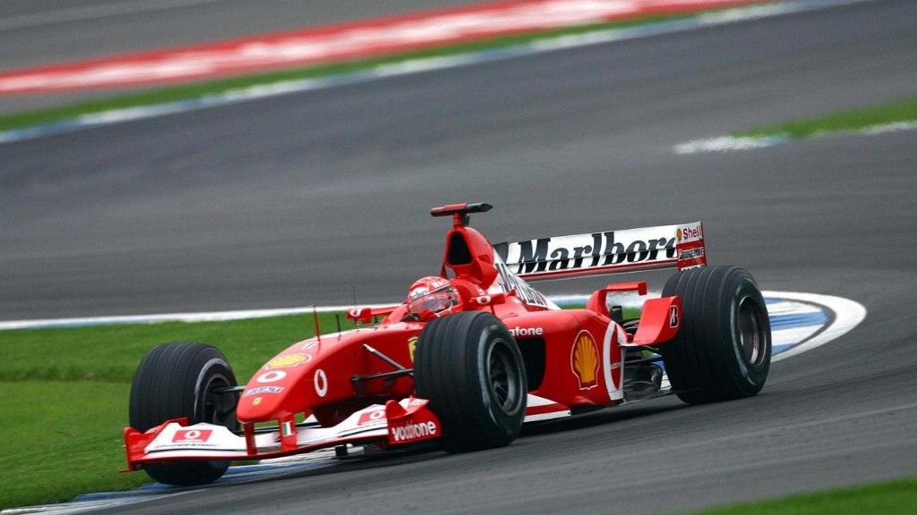 schumacher - schumacher ferrari 01 - Schumacher's Ferrari up for sale as medical bills mount