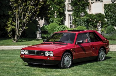 auction - 1985 Lancia Delta S4 Stradale 01 - Cashed up Germans shatter auction records