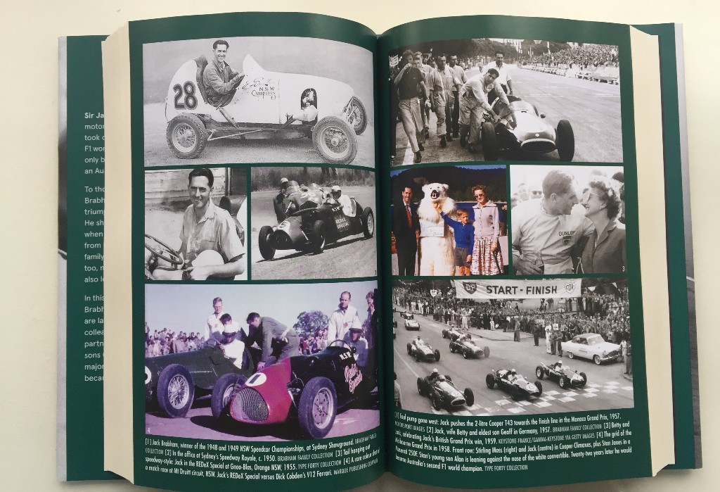 brabham - jack brabham photospread - Triple F1 world champion, canny engineer and car developer . . . and pants' man