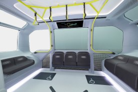 driverless - toyota e Palette electric bus 03 - Driverless electric mini-bus ferries athletes