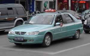 Citroen-Fukang-taxi