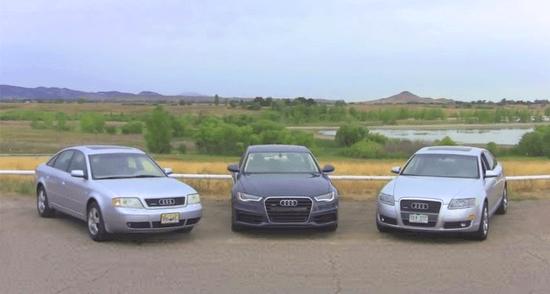 Audi_A6-generations-auto-sales-statistics-Europe