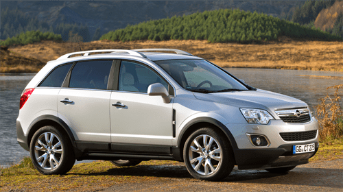 Opel Vauxhall Antara European Sales Figures