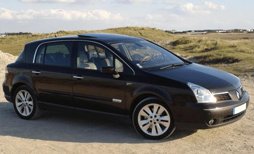 Renault Vel Satis European Sales Figures