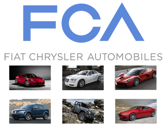 Fiat Chrysler Automobiles European Sales Figures