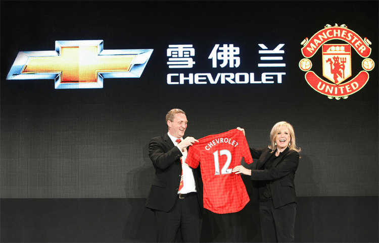Man U sponsorship looking less like a great deal for Chevy every year