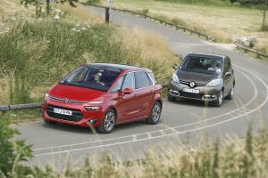 Citroen-C4_Picasso-Renault-Scenic-midsized-MPV-sales-Europe
