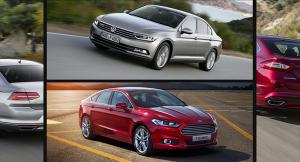 European-car-sales-statistics-midsize-segment-2014-Volkswagen_Passat-Ford_Mondeo