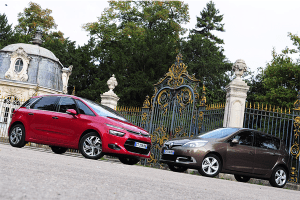 European-car-sales-statistics-midsized-MPV-segment-2014-Citroen_C4_Picasso-Renault_Scenic