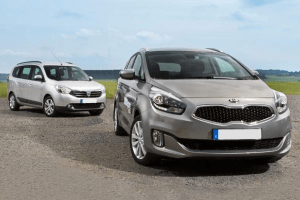 European-car-sales-statistics-midsized-MPV-segment-2014-Kia_Carens-Dacia_Lodgy