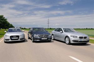European-car-sales-statistics-premium-large-segment-2014-Mercedes_Benz_E_Class-BMW_5_series-Audi_A6