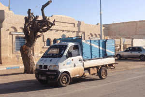 Cargo_taxi-Morocco-Dongfeng-pickup-truck