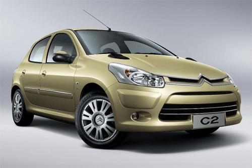 Citroën C2 China auto sales figures