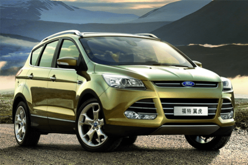 Auto-sales-statistics-China-Ford_Escape-Kuga-SUV