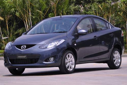 Auto-sales-statistics-China-Mazda2-sedan