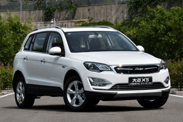 Auto-sales-statistics-China-Zotye_Damai_X5-SUV
