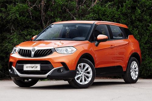Auto-sales-statistics-China-Brilliance_V3-SUV