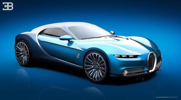Bugatti Type-6 GT Vision