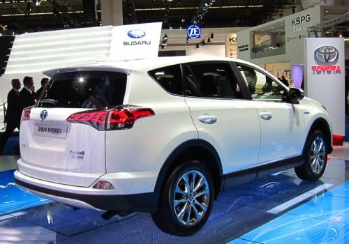 Toyota RAV4 Hybrid rear