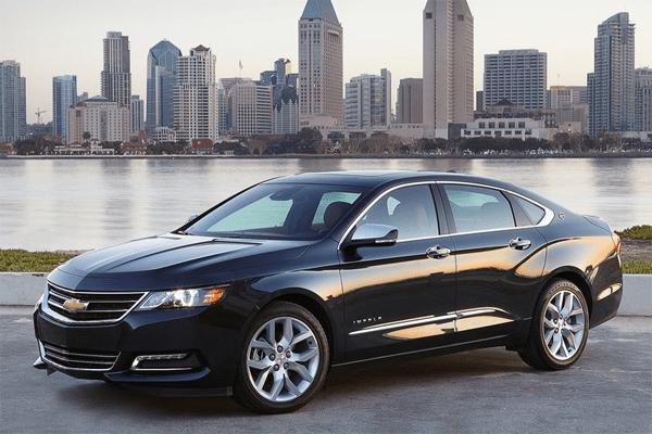 Chevy impala sales figures