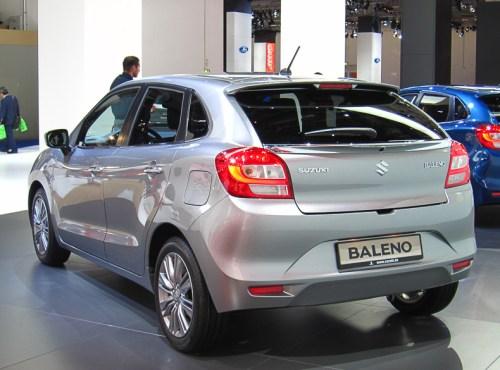 Suzuki Baleno rear