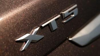 Cadillac XT5 badge