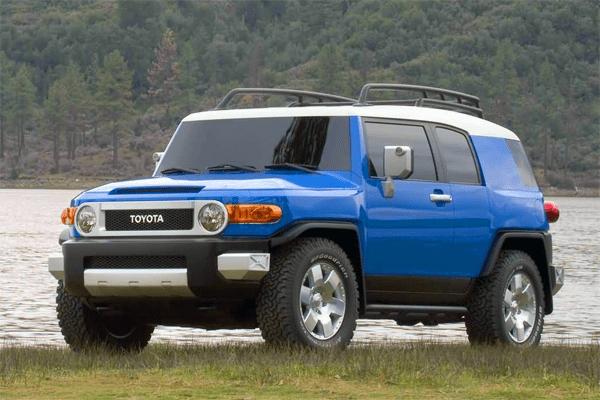 Toyota FJ Cruiser US Car Sales Figures - 2006 fj cruiser