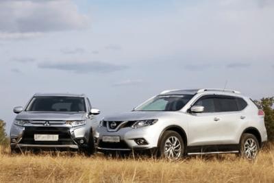auto-sales-statistics-Europe-november-2015-Nissan_X_Trail-Mitsubishi_Outlander
