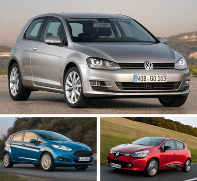 European-car-sales-2015-Volkswagen_Golf-Ford_Fiesta-Renault_Clio