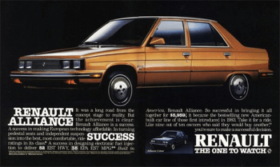 Renault_Alliance-ad-US-car-sales-1985-models