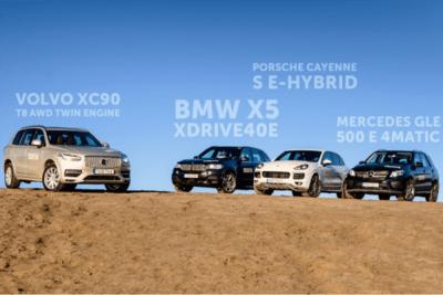 PHEV-sales-Europe-2015-Volvo_XC90_T8-BMW_X5_40e-Porsche_Cayenne_S_e_Hybrid-Mercedes_Benz_GLE500e