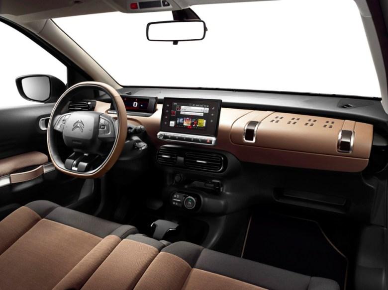 Citroën C4 Cactus interior