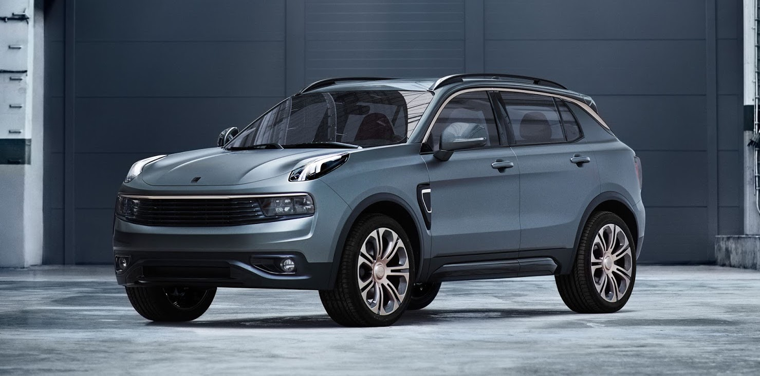 Lynk & Co shows off its first car, the Volvo-based 01 SUV ...