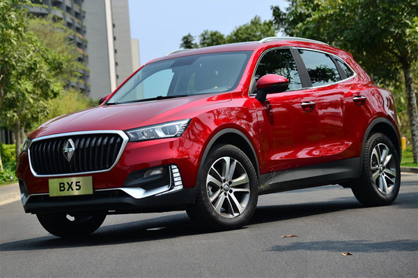 Auto Sales Data Today: Borgward BX5 China Auto Sales Figures