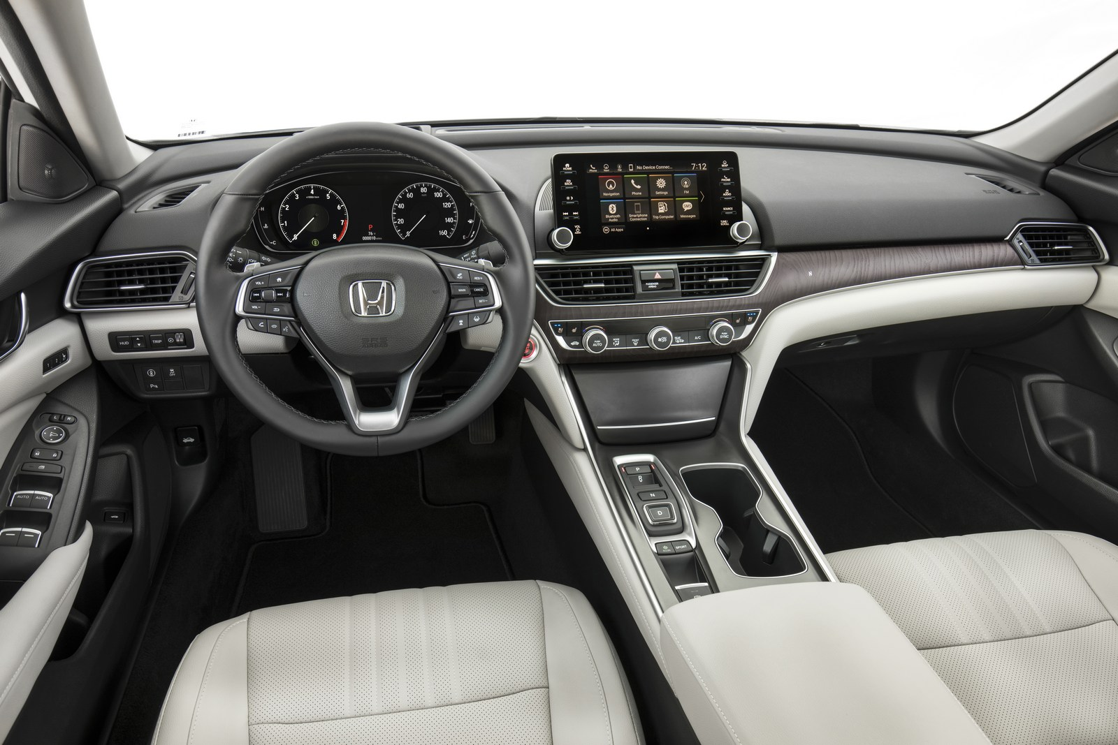 The Good News Continues Inside Where Design And Quality Seems Match That Of Hondas Upscale Brand Acura Especially With Large Touch Screen