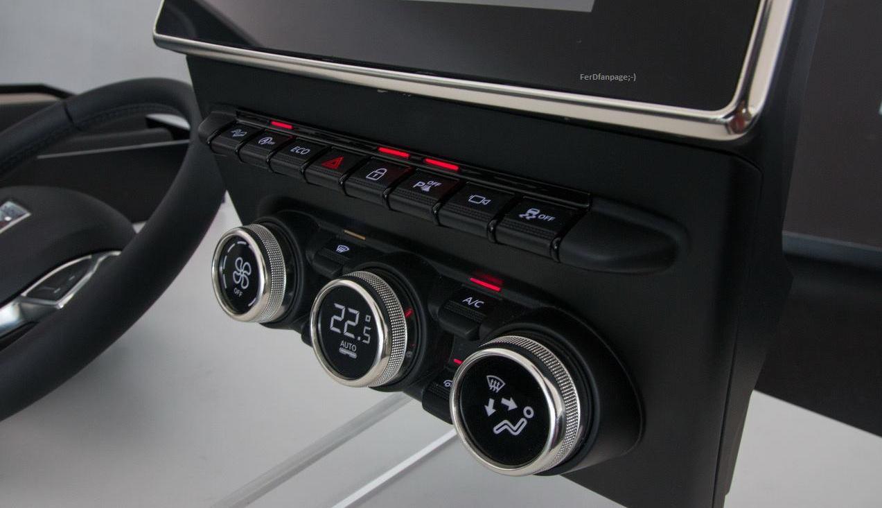 Dacia Duster interior 2 - carsalesbase.com