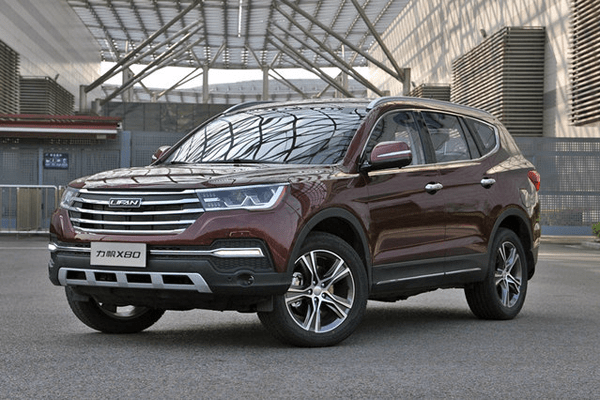Lifan X80 China Auto Sales Figures
