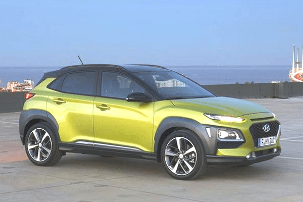Auto Sales Europe Data: Hyundai Kona European Sales Figures