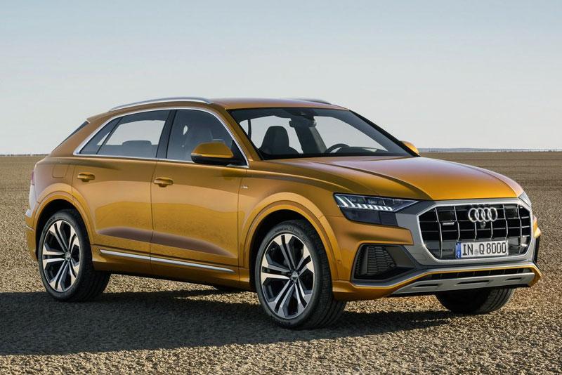 Audi Q8 European Sales Figures