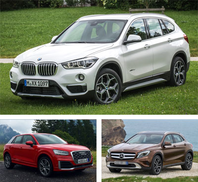 Compact_Premium_Crossover-segment-European-sales-2018-BMW_X1-Audi_Q2-Mercedes_Benz_GLA
