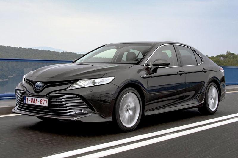 Toyota Camry European sales figures