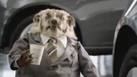 The Badger Car Salesman