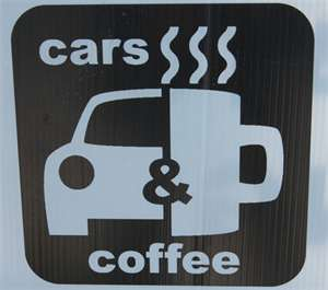 logo for Coffe and Cars El Paso