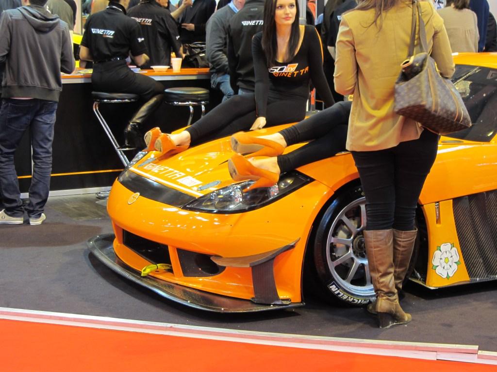 6-inch Orange Heels