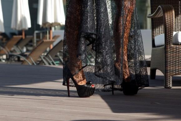 Duygu Senyurek's High Heels