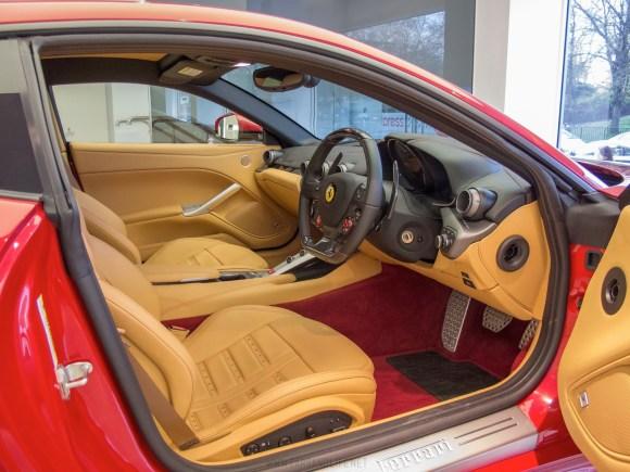 Ferrari F12 Interior