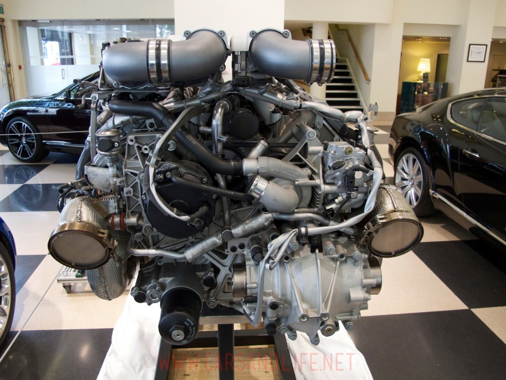 medium resolution of bugatti veyron w16 engine and gearbox at hr owen london rh carsandlife net bugatti veyron engine
